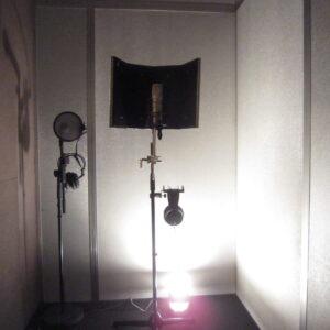 設置後のレコーディングブース①