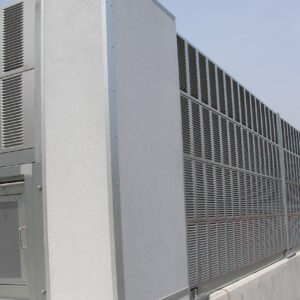 高速道路の防音壁